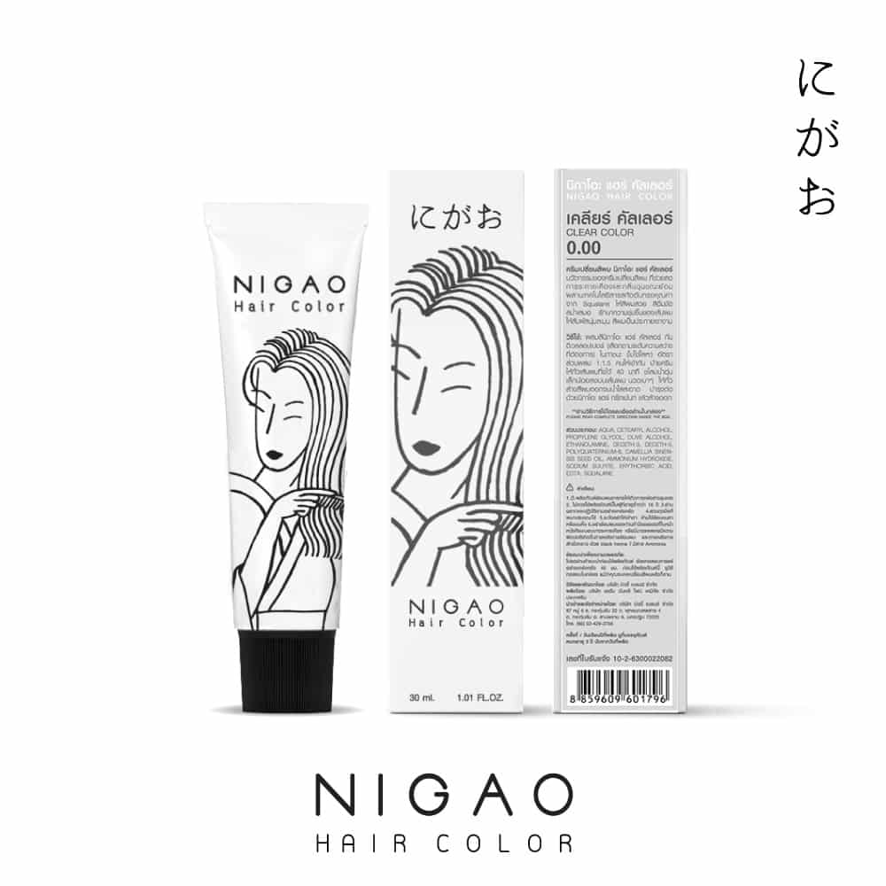 0.0 - Nigao Hair Color Clear Color