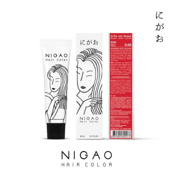 0.66 - Nigao Hair Color Red