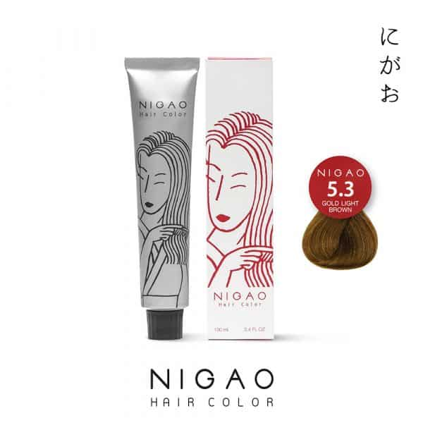 5.3 - Nigao Hair Color Gold Light Brown