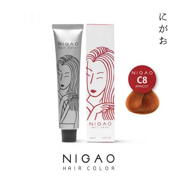 C8 - Nigao Hair Color Apricot