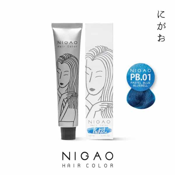 PB.01 - Nigao Hair Color Blue Bluebell