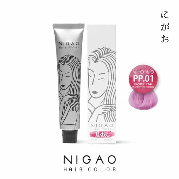 PP.01 - Nigao Hair Color Pink Cherry Blossom