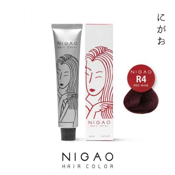 R4 - Nigao Hair Color Red Wine