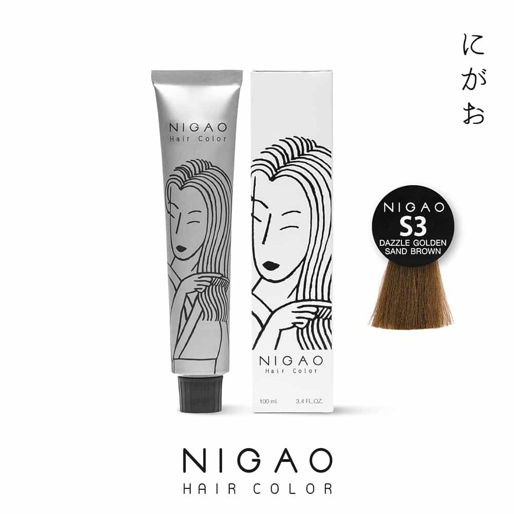 S3 - Nigao Hair Color Dazzle Golden Sand Brown